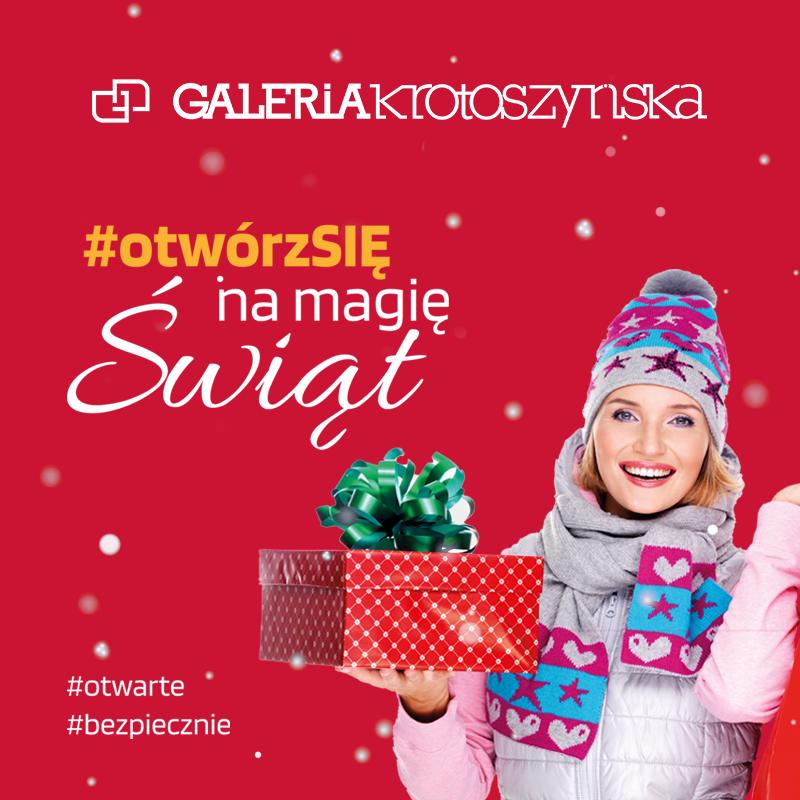 #otwórzSIĘ na magię Świąt!